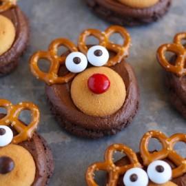 Печенье-оленята