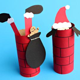 Дед Мороз в трубе